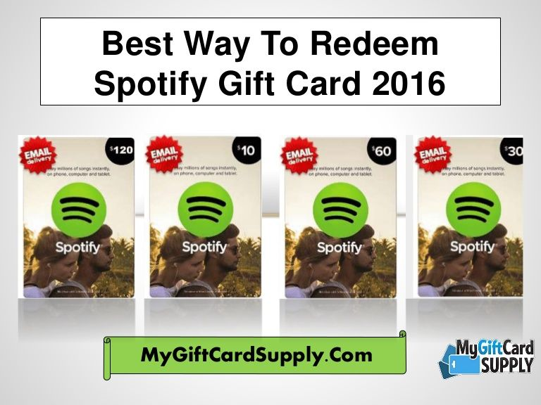 Redeem your Spotify gift card easily and get premium subscription of Spotify. Buying premium edition of Spotify, you can get unlimted music, ...