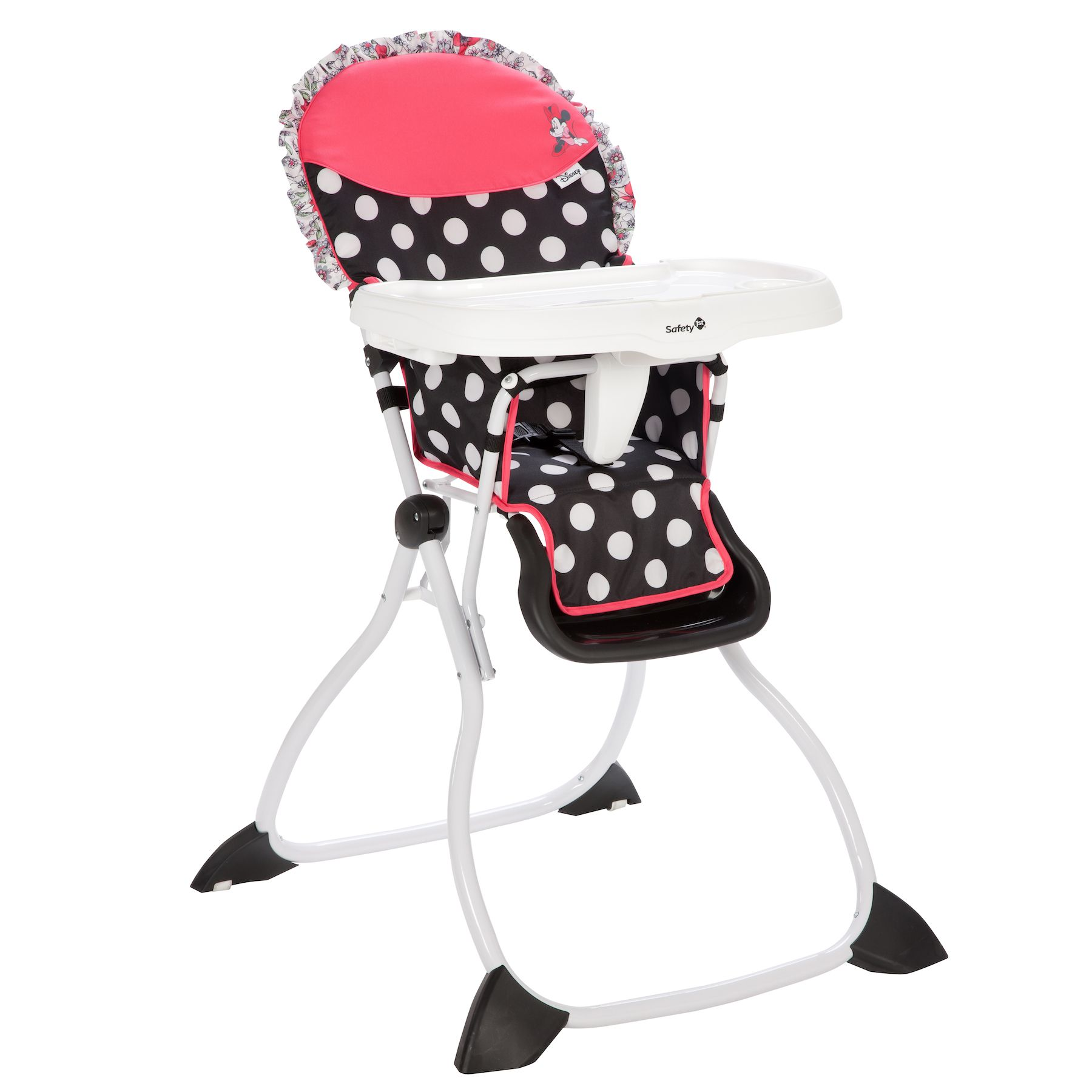 MINNIE MOUSE Coral Flowers Fast Pack High Chair Baby