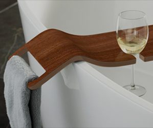 V Amp A Tombolo 10 Book Rest With Integrated Wine Glass Slots