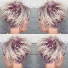 I want this hair color SO bad! Behind The Chair - Articles
