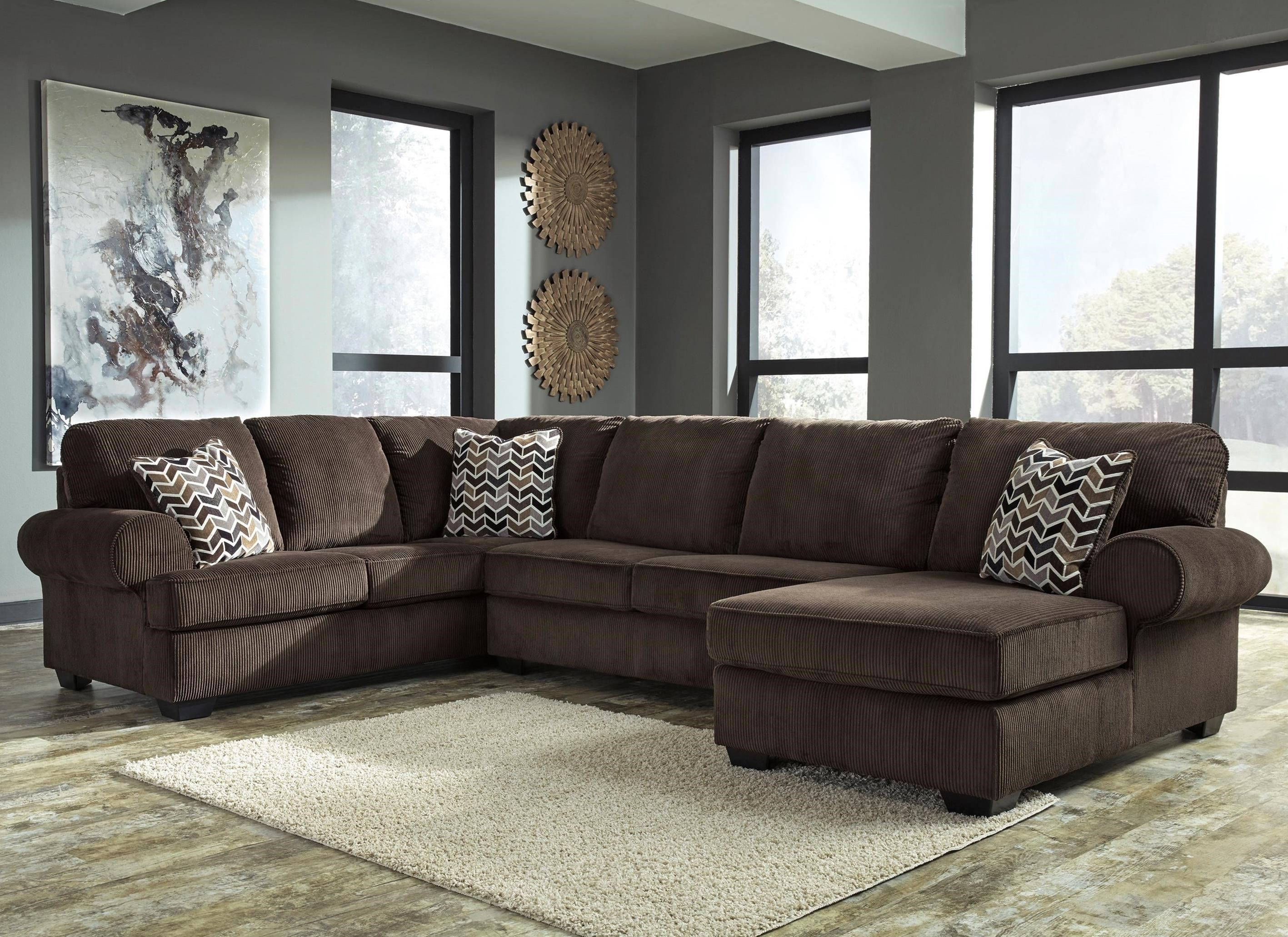 Jinllingsly 3 Piece Sectional With Right Corner Chaise by ...