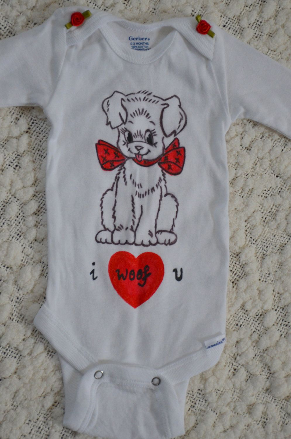 A personal favorite from my Etsy shop https://www.etsy.com/listing/215012404/handpainted-baby-onsies-babysuit