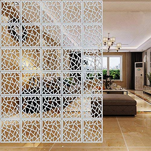 Amazon Com Yizunnu 12pcs Set Room Hanging Screen Divider Panels