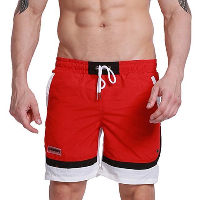 6c2b2bc0ccc0d Summer Men Beach Board Shorts Polyester Quick Dry Male Man Bermudas Surfing  Swim Shorts Swimwear GYM