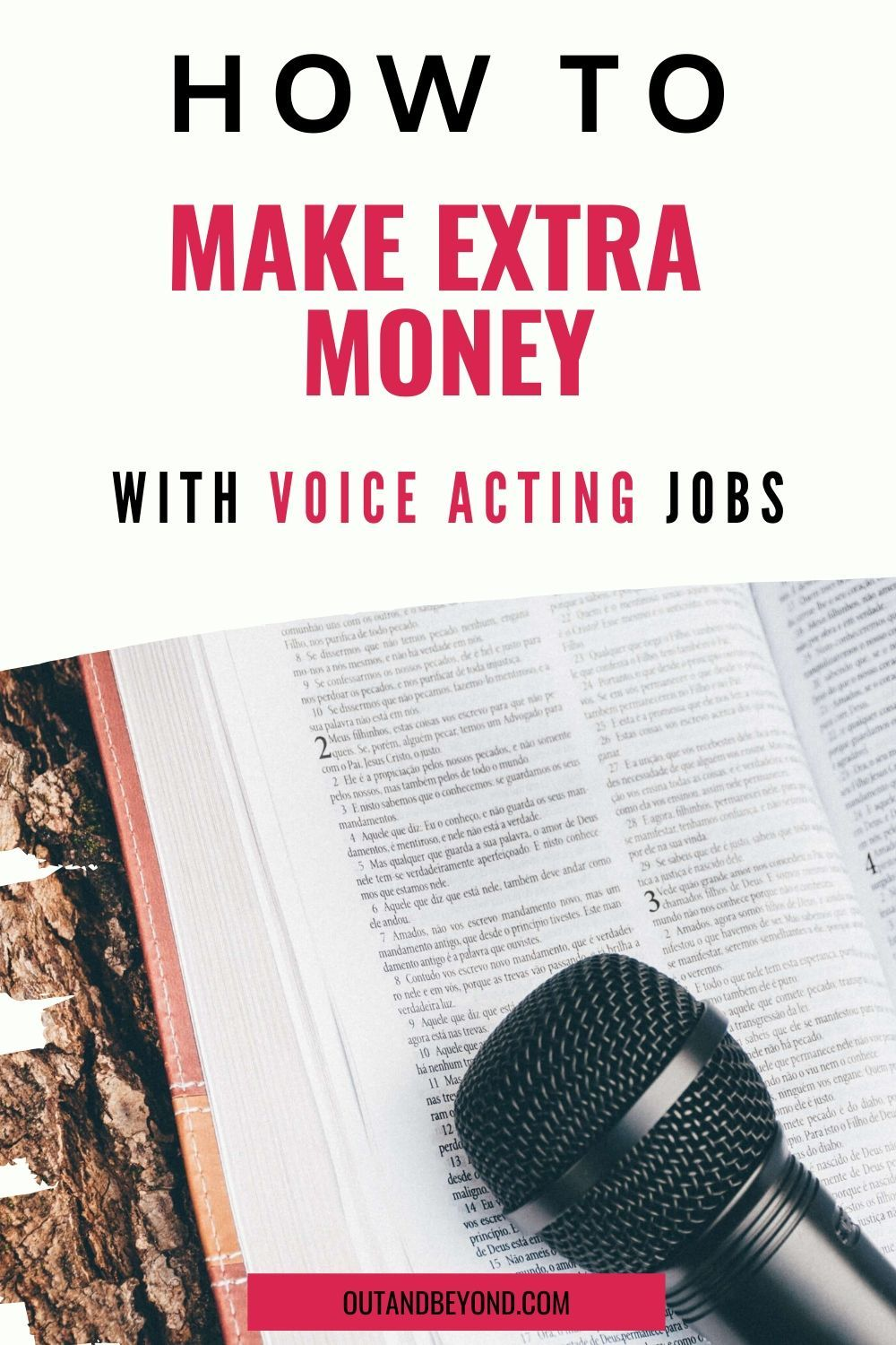 How To Make Extra Money With Voice Acting Jobs in 2020