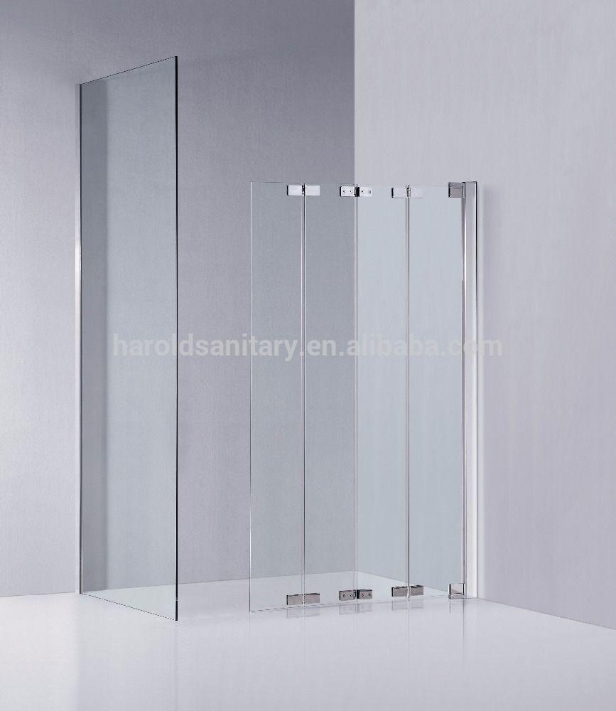 Accordion Style Trackless Shower Door Httpsourceabl