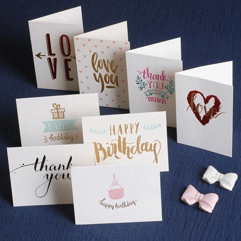 8 Cards Mini Blank Card Diy Graffiti Word Cards Gift Greeting Cards Birthday Gift Card With Envelope Perfe Birthday Gift Cards Cards Birthday Greeting Cards