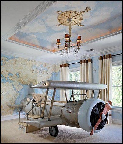 Aviation Themed Bedroom Ideas
