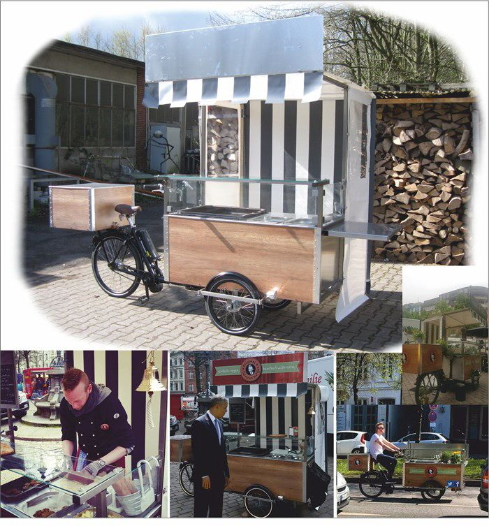 verkaufsfahrrad verkaufsvelo,foodbike ,foodfestival,streetfood ... - Fahrbare Küche