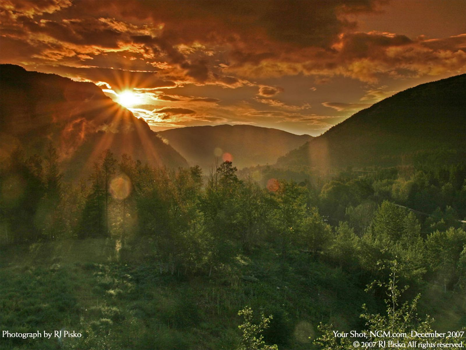 Bluff Mountain In Blairmore, Crowsnest Pass, Alberta National Geographic photos { part 15 }
