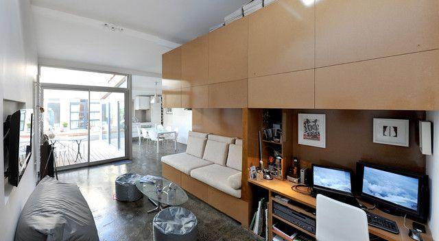 PASSAGE BUHAN : Aménagement d\'un garage en une mini maison moderne ...