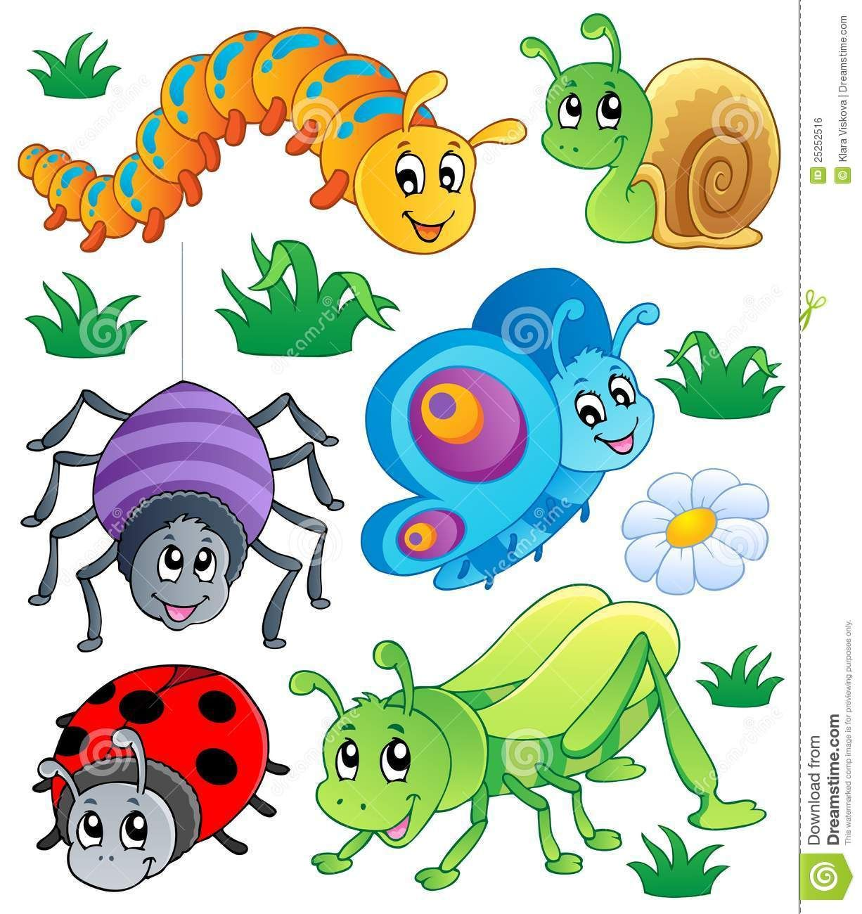 Clipart Cute Bug Bugs Collection 1 Clipart Insect Clipart Bug Art Cartoon Animals
