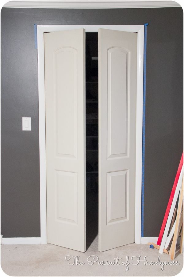 Bedroom Screen Door: Trim Down Bifold Doors Tutorial