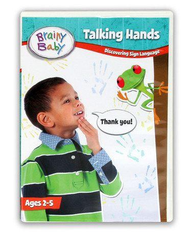 Look at this #zulilyfind! Talking Hands DVD by Brainy Baby #zulilyfinds