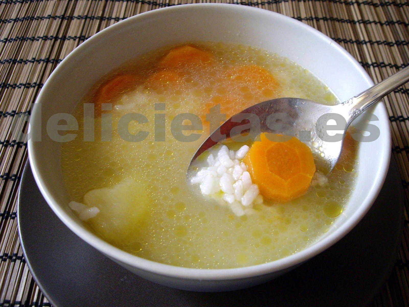 arroz hervido dieta blanda