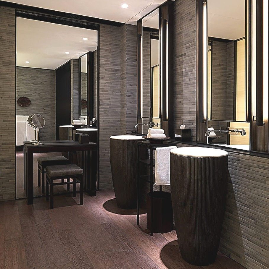 Puli Hotel And Spa In Shanghai 6 Bathrooms Pinterest