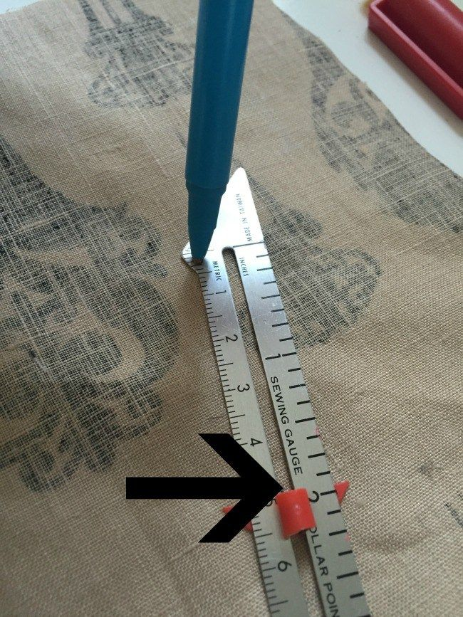 Clever tips and tricks using a sewing gauge
