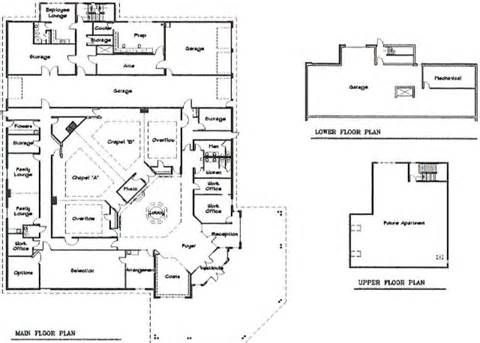 Funeral home floor plans 480 343 funeral homes for Funeral home blueprints