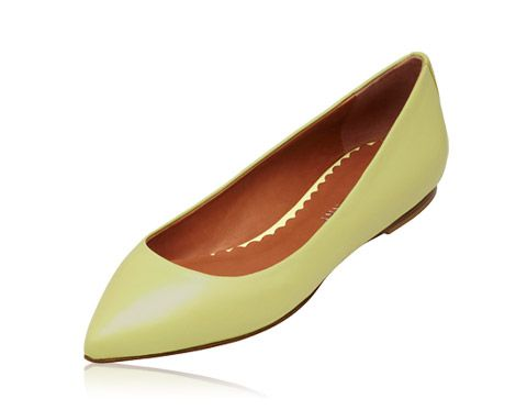 Mulberry - New Mulberry Signature Ballerina in Pistachio Florence Nappa