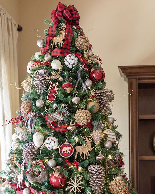 3 Tips To Make A Tree Look Magical Christmas Tree Themes Rustic Christmas Tree Unique Christmas Trees
