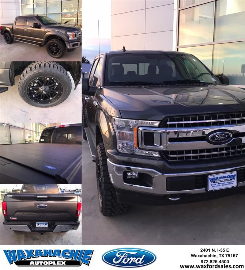 Come to Waxhachie Ford and see this 2018 Ford F150 with