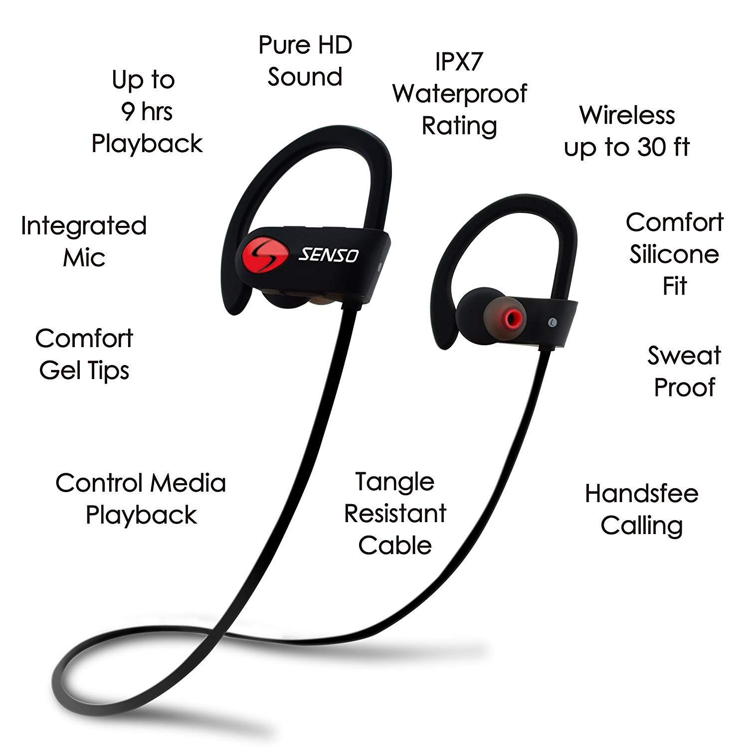 SENSO Bluetooth Headphones Review Extremely Budget