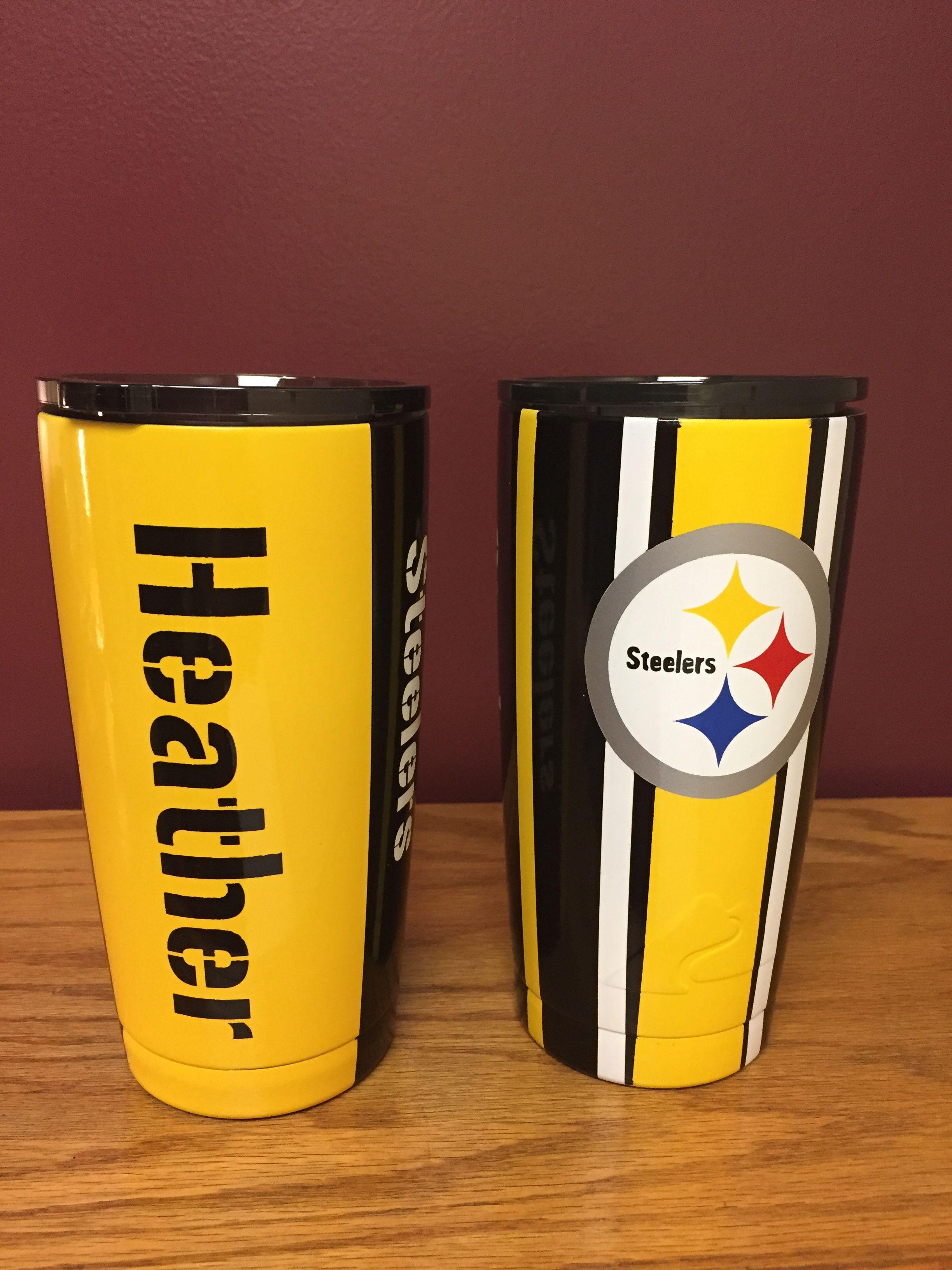 Steelers Yeti Cup Diy Tumblers Custom Tumblers Steelers