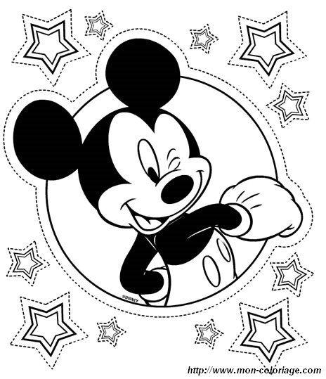 Malvorlagen Micky Maus, Bild Micky Maus 1 | cartoon | Pinterest ...