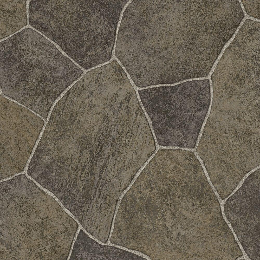 Trafficmaster Take Home Sample Natural Paver Vinyl Sheet 6 In X 9 In S030hd284z6910 997 Vinyl Sheet Flooring Vinyl Sheets Vinyl Flooring Kitchen