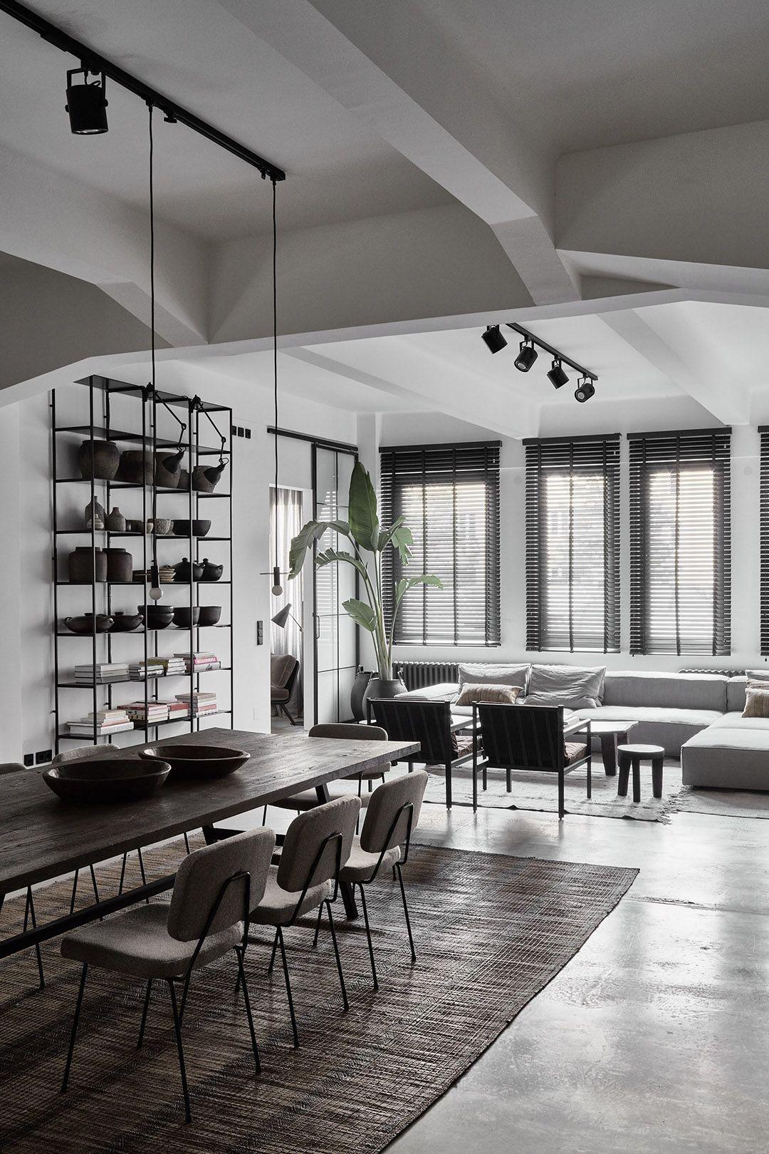 Riviste Di Design D Interni.Raw Understated Minimalist Berlin Home Bungalow5 Id Living