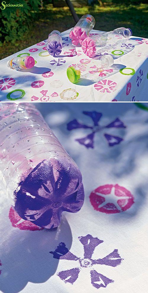 die besten 25 pet flaschen blumen basteln ideen auf pinterest wasserflaschen blumen. Black Bedroom Furniture Sets. Home Design Ideas