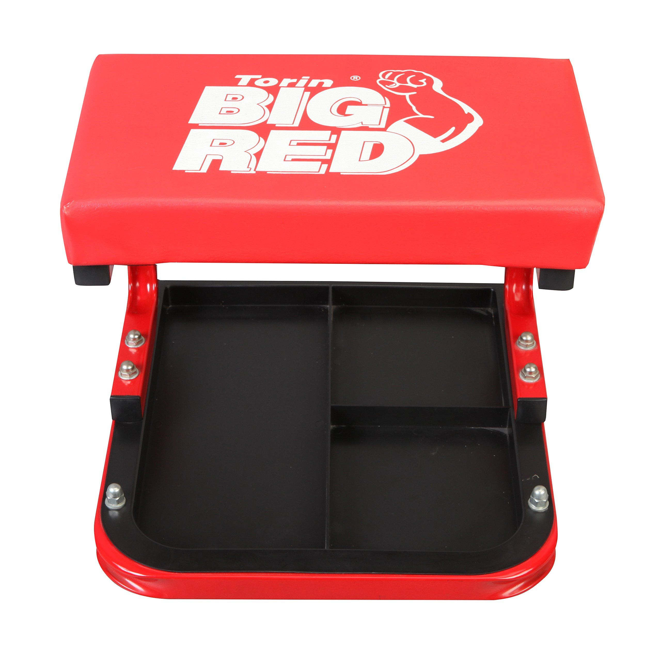 Torin Big Red Rolling Creeper Garage Shop Seat Padded Mechanic Stool With Tool Tray Red Ad Rolling Ad In 2020 Womens Skirt Outfits Garage Shop Mechanics Stool