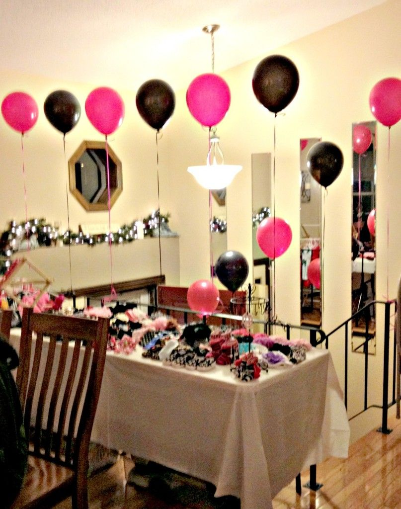 hot pink and zebra baby shower decorations | Zebra baby showers and ...