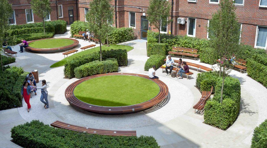 The Outdoor Room | Orchard Lisle Courtyard, Guys' & St ...
