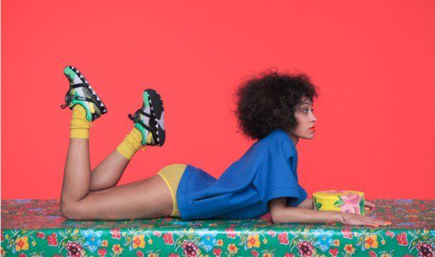 Photos | Solange Shares Art Direction for Puma 'Girls of Blaze ...