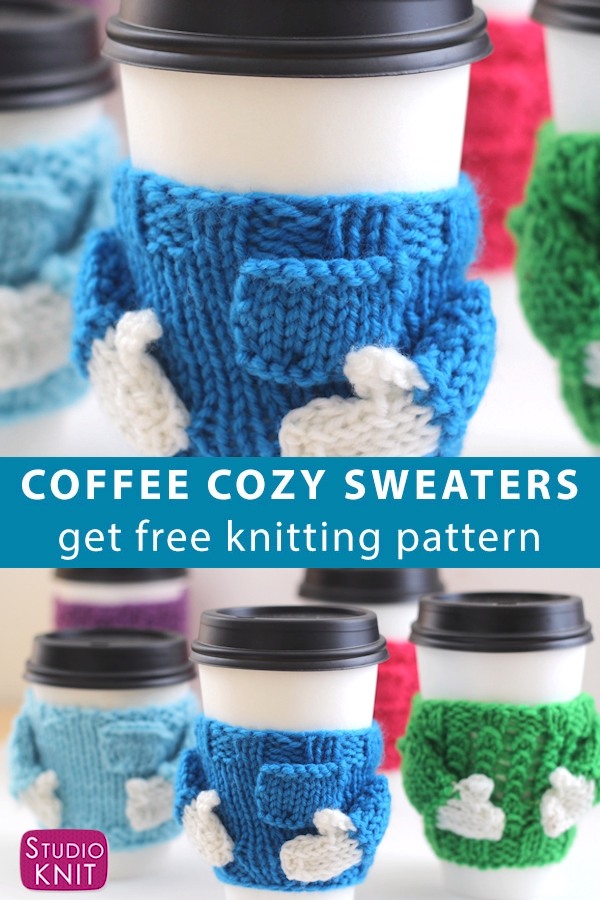 Photo of Coffee Cozy Sweater Knitting Pattern