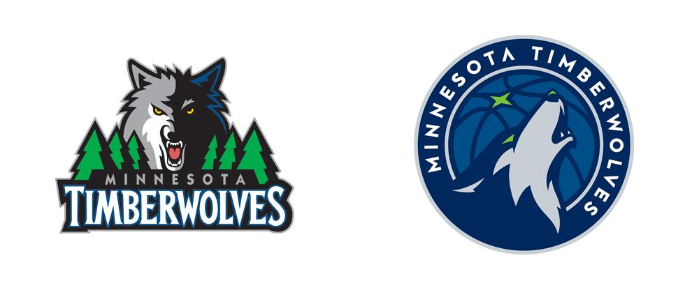 New Logo For Minnesota Timberwolves By Rare Design Minnesota Timberwolves Logo Inspiration Cool Logo