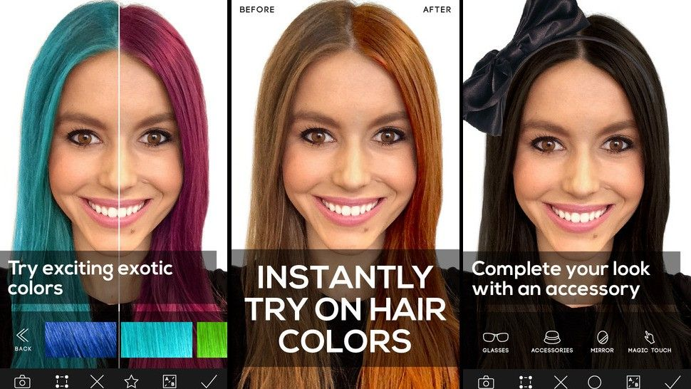 Try On Different Hair Colors And Styles Red Hair Hair Coloring