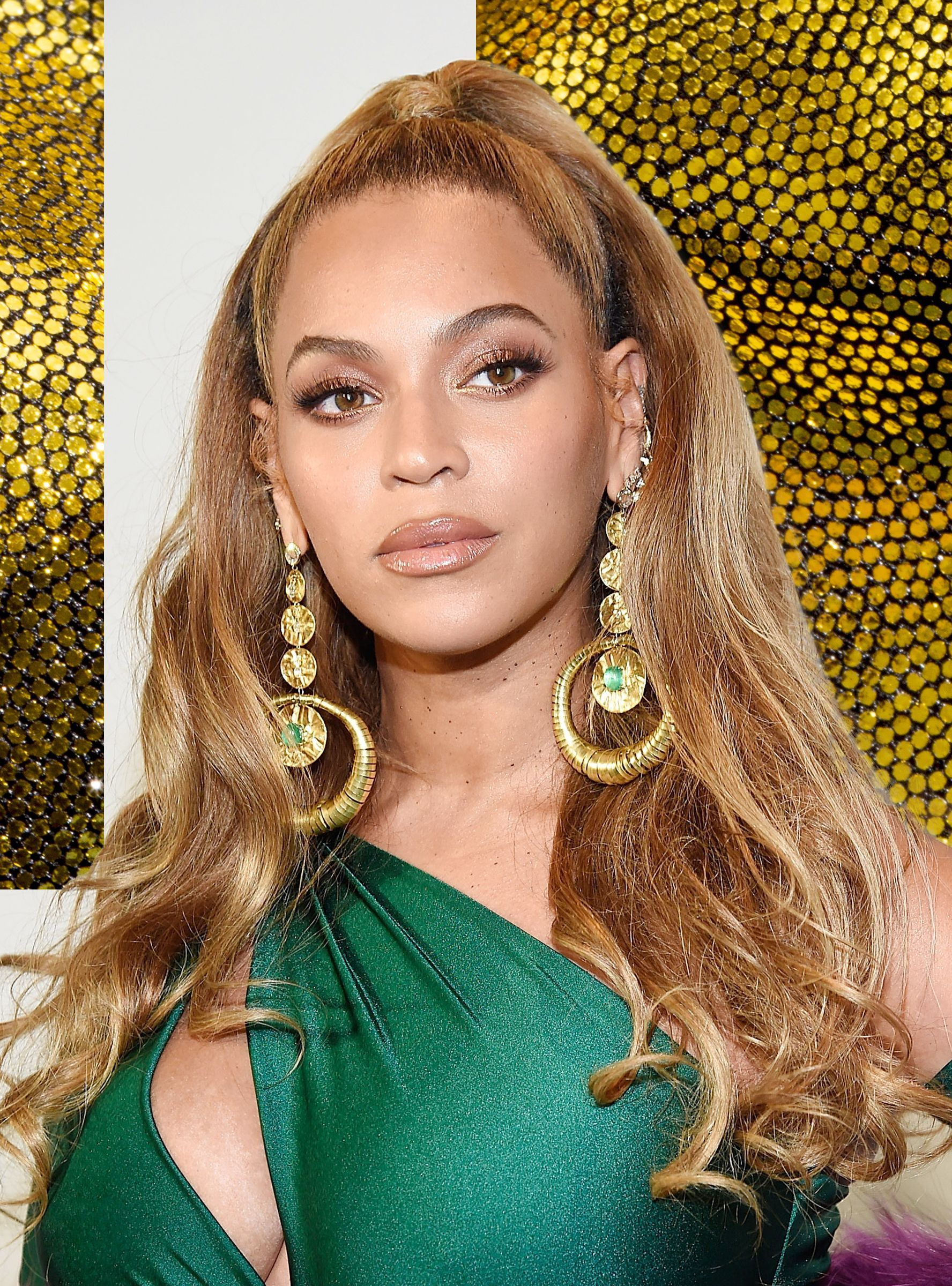 Beyonce Wore The Most Epic Hairstyle To Serena Williams Wedding Beyonce Hair Curly Girl Hairstyles Afro Punk Hairstyles