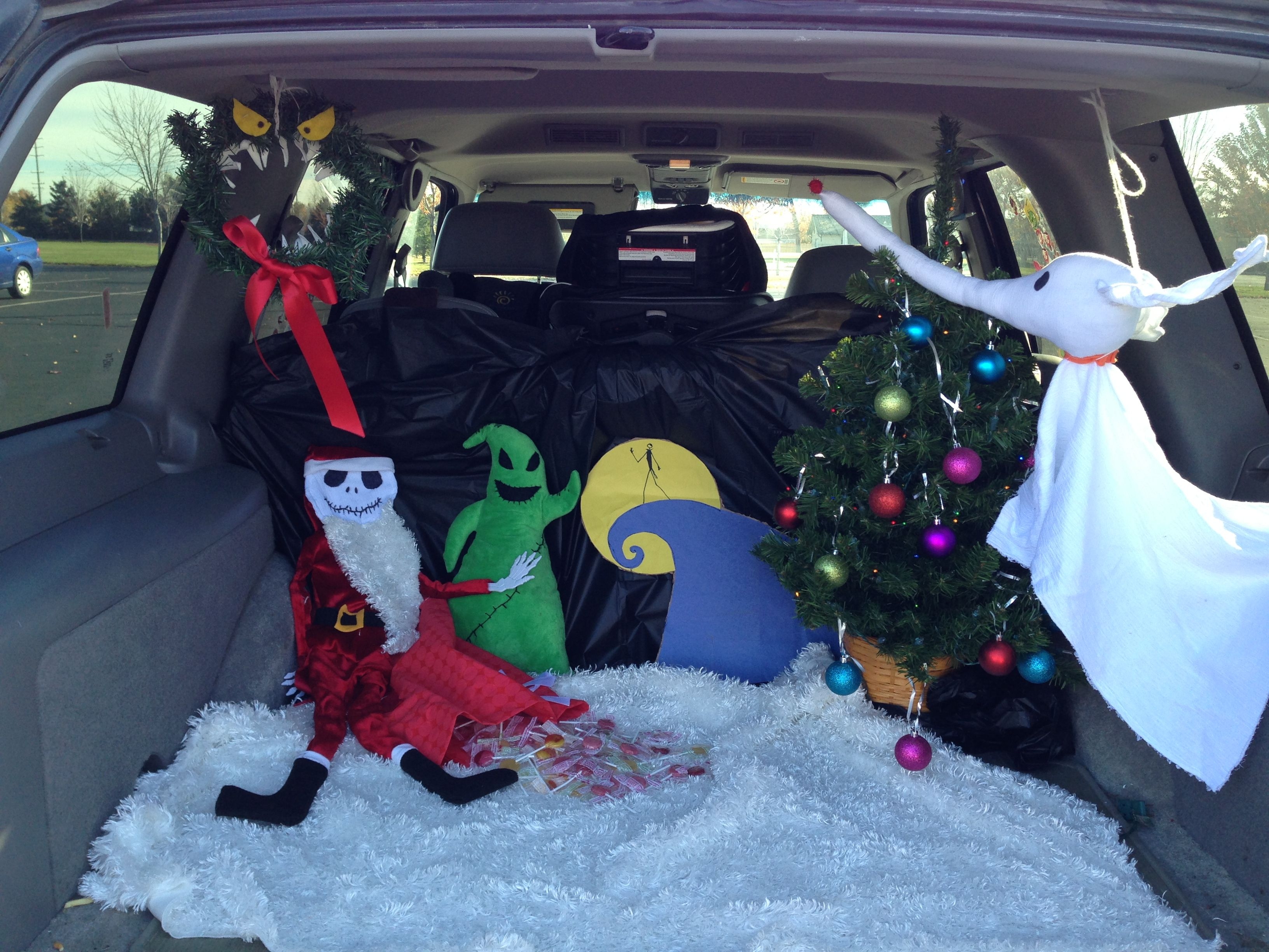 Nightmare Before Christmas trunk or treat | Holidays in 2018 ...