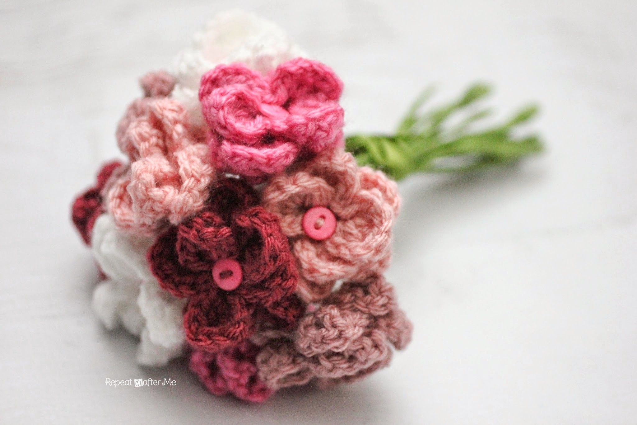 Repeat crafter me crochet flower bouquet crochet flowersplants repeat crafter me crochet flower bouquet izmirmasajfo