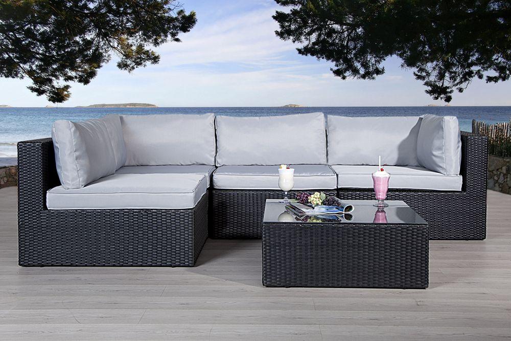 Die moderne Luxus Lounge-Garten-Garnitur \ - moderne luxus wohnzimmer