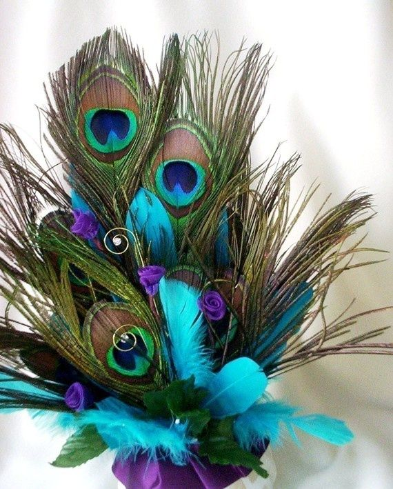 Peacock Wedding Centerpieces Ideas: Wedding Decorations With Peacock Theme