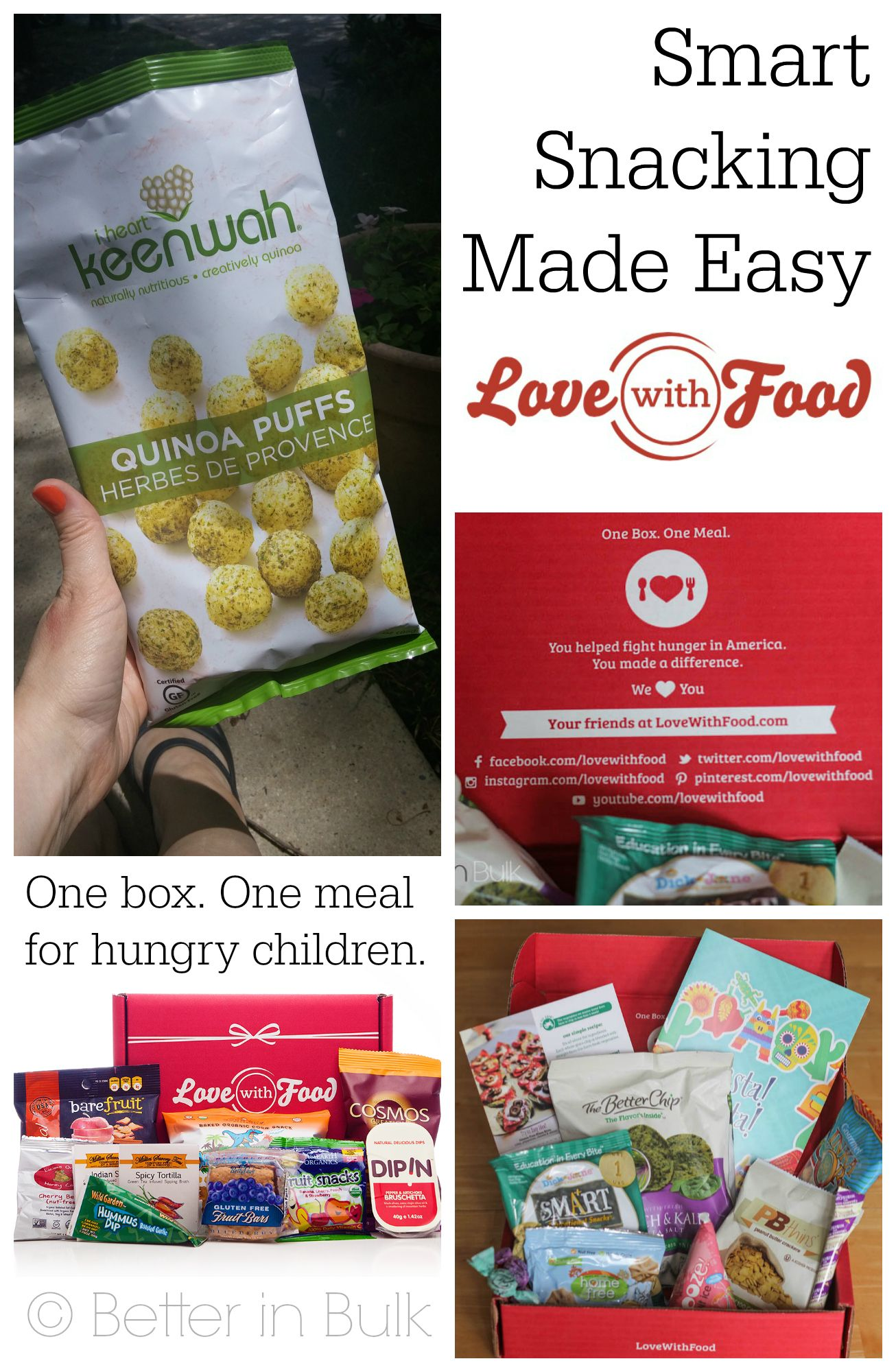 Love With Food: Smart Snacking Made Easy #ad