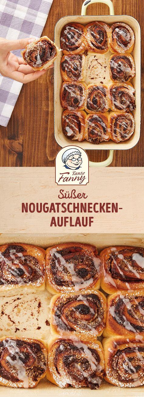 Nougatschnecken-Auflauf #hefeteigfürpizza