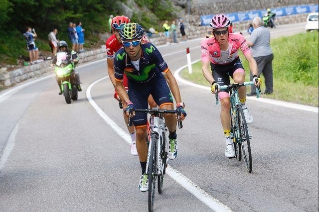Valverde s'impose devant Kruijswijk solide leader