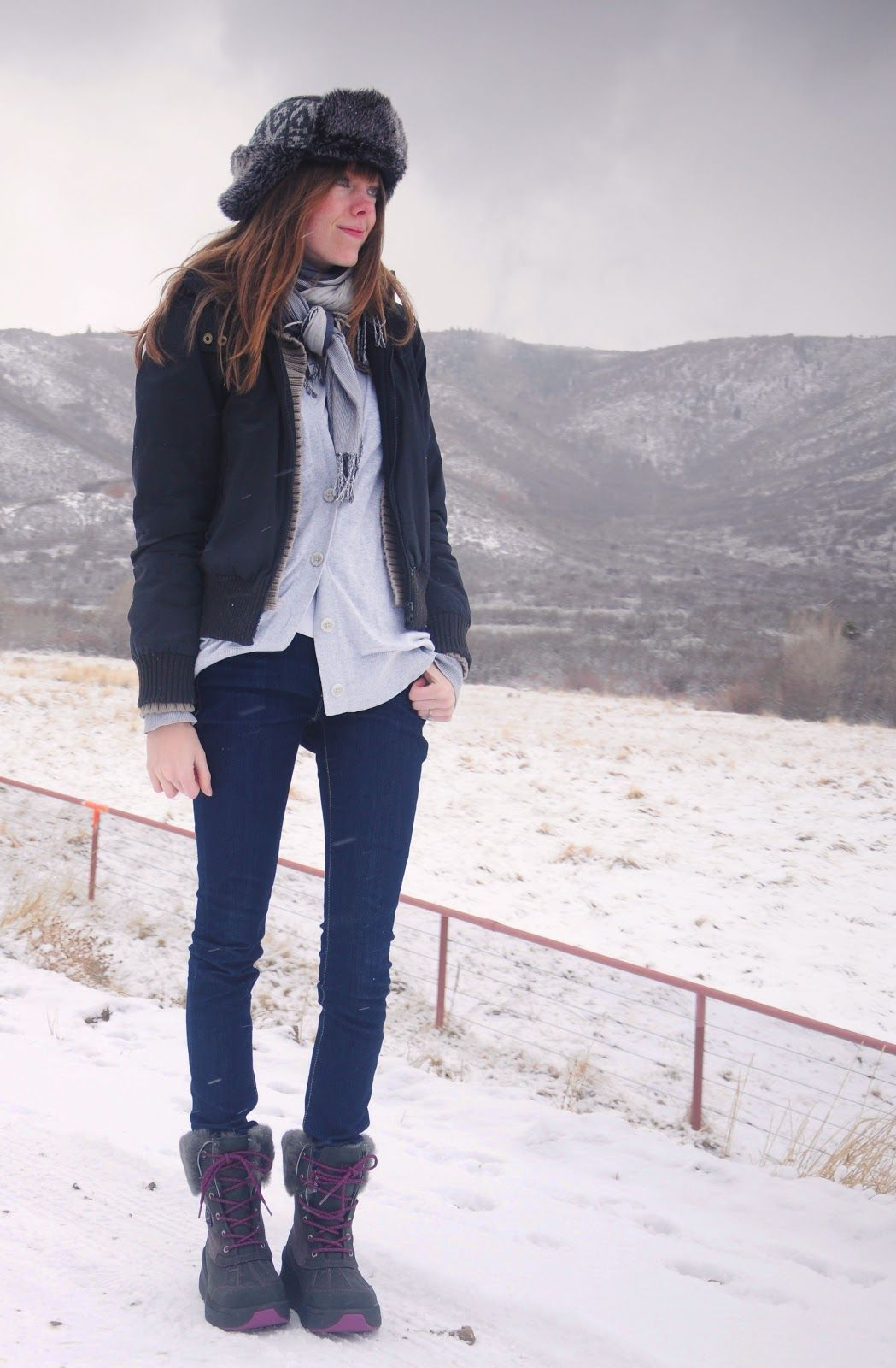 Winter Hiking Fashion; UGG Snow Boots | Our Style | Pinterest | Hiking Fashion Winter Hiking ...