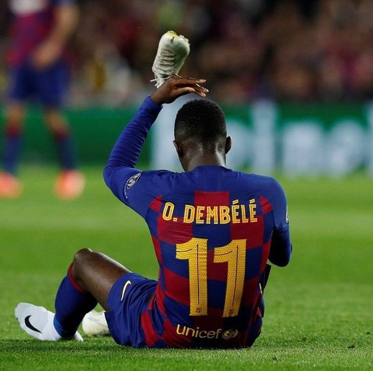 Dembele Is In The Final Stretch Of His Recovery Between Doha And Barcelona Dembele Plans To Return To Barcelona On Nba Ba Barcelona Sports Champions League
