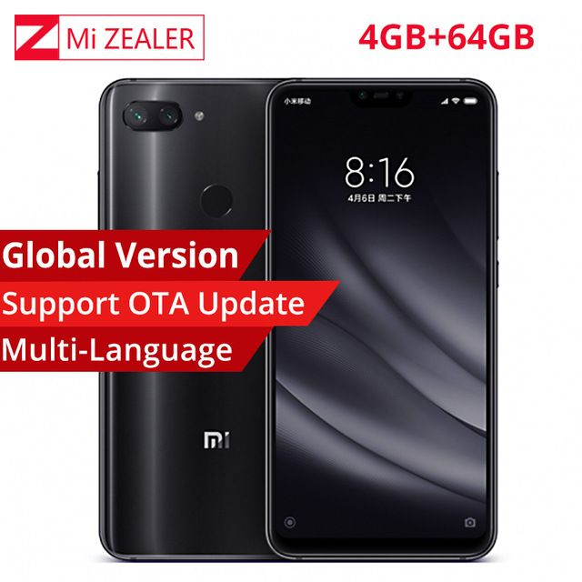 Aliexpress.com : Buy CN Version Xiaomi Mi 8 Lite 4GB RAM