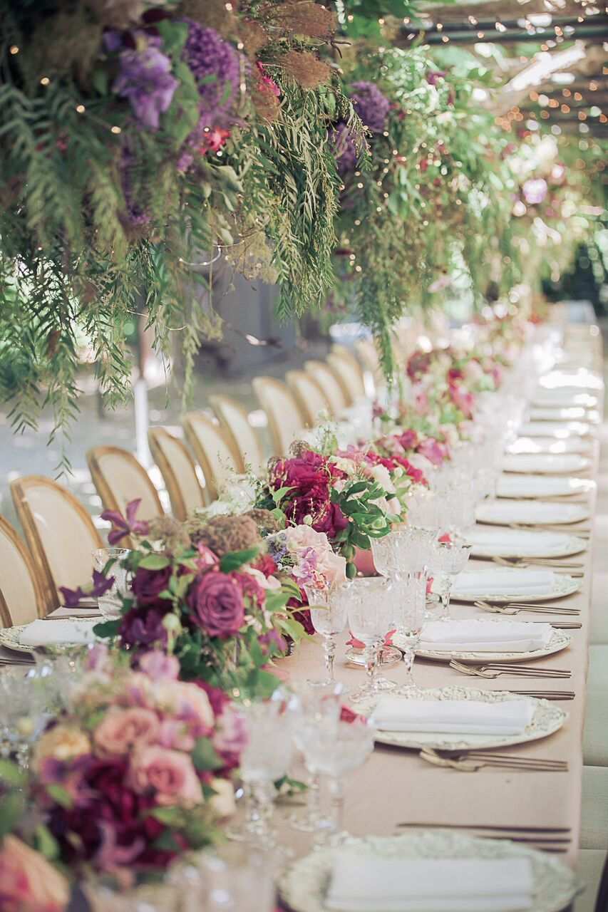Lush Pink Garden Romance California Wedding from Arrowood Photography – MODwedding